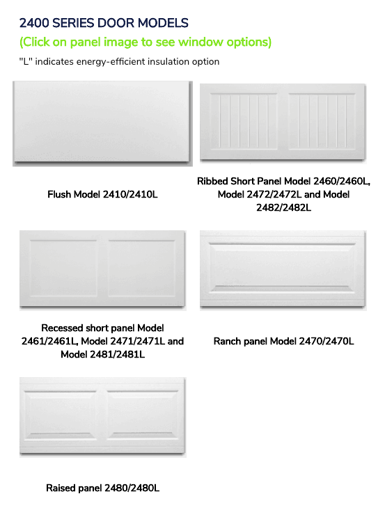 2400 series door models